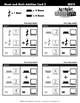 Music & Math 4 Lesson/Activity Sheets / MrMikesMusicMats