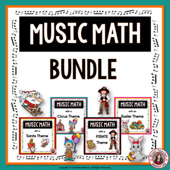 Music Math BUNDLE