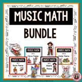 Music Math Games BUNDLE