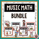 Music Math Games BUNDLE