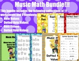 Music Math (Bundle)