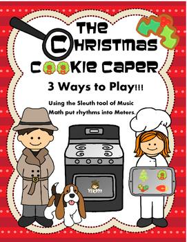 Music Math: Christmas Cookie Caper