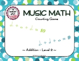 Music Math Counting Game-Level 2