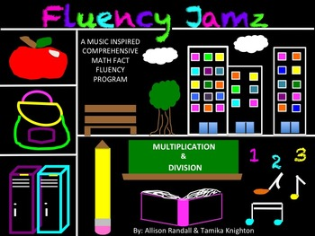 """Music Math Fact Fluency """"Doubles Song"""" and Practice Activities-Multiplication"""