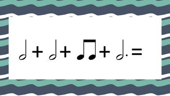 Music Math Flashcards