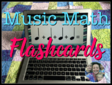 Music Math Flashcards