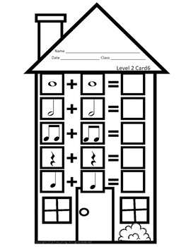 Music Math Houses -Music Workstation