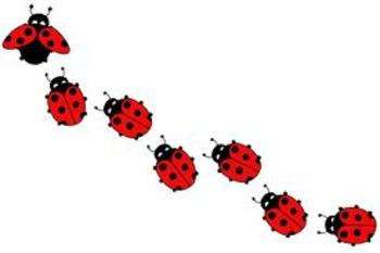 Music Math Lady Bugs Lesson #7 ~ Perfect for the Common Core!