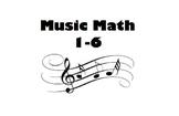 Music Math 1-6