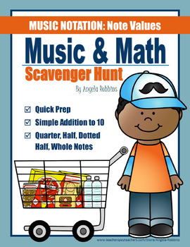 Music & Math Scavenger Hunt