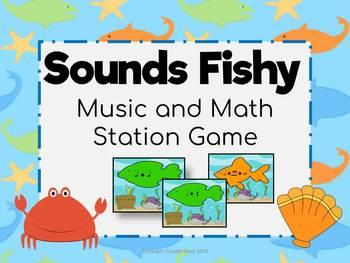 Music Math Station Game