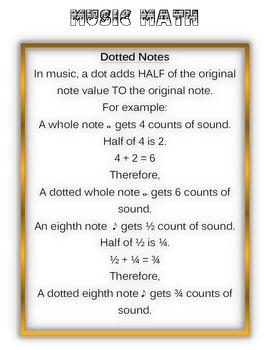 Music Math advanced