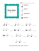 Music Math for Beginners