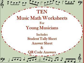 Music Math with QR Codes
