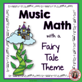Music Math Games with a Fairy Tale Theme