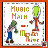 Music Math Games with a Monster Theme