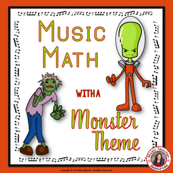 Music Math with a Monster Theme