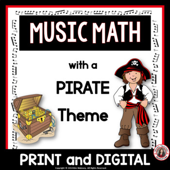Music Activities: 24 Music Math Games with a Pirate Theme