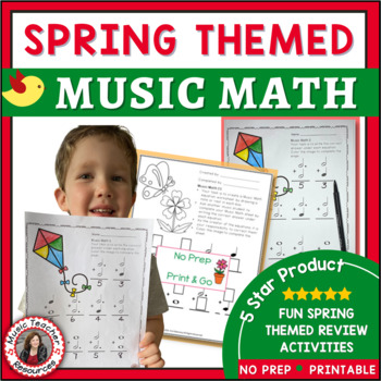Music Math with a SPRING Theme