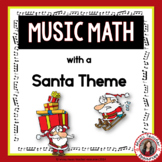 Christmas Music Activities: 24 Christmas Music Worksheets - Music Math