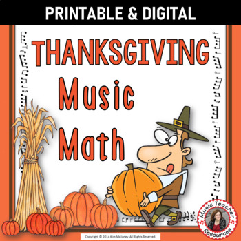 Thanksgiving Music Math Activities