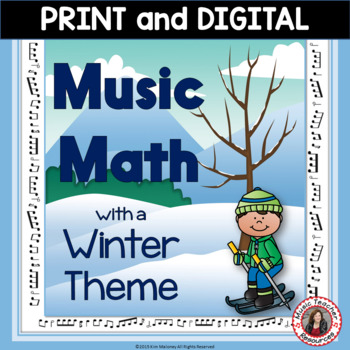Winter Music Math Activities