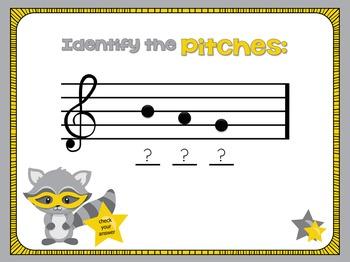 Music Mayhem: Treblemaker - A Treble Clef Note Name/Spelling Game