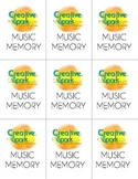 Music Memory Game: Notes & Rests