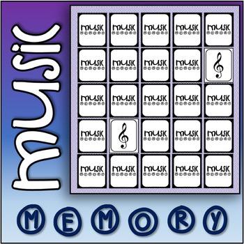 Music Memory - Music symbol game