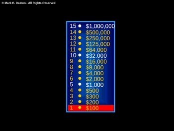 Music Millionaire Game