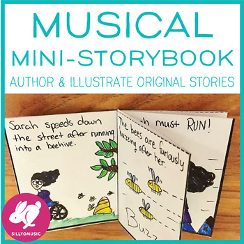 Music Mini-Book: Author and Illustrate a Story