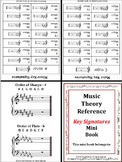 KEY SIGNATURES: Music Mini Reference Book