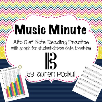 Music Minute - Alto Clef Note Reading Practice