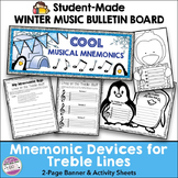 Winter Music Bulletin Board (Student-Made) & Activity Sheets