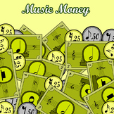 Music Money - Printable - Color and Black&White