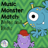 Music Notes and Rests Memory Game