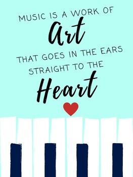 Music Motivational Poster
