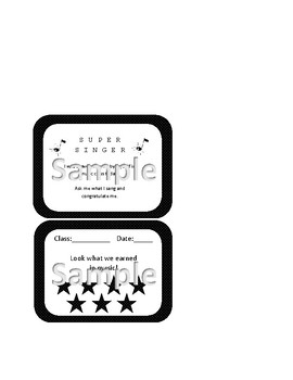 Music Motivators Black and White Polka Dots