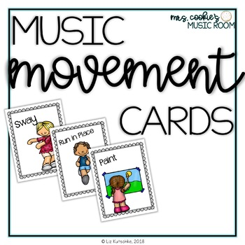 Music and Movement Cards