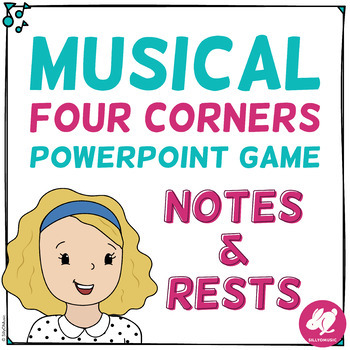 Musical Four Corners, Note & Rest Identification