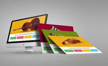 MUSIC: Musical Instruments Trivia - Interactive PowerPoint Game