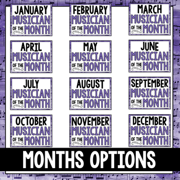 Music Musician of the Month: Jelly Roll Morton Bulletin Board Pack
