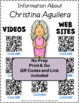 Music: Musicians - Christina Aguilera: Music Listening and Research Foldables