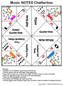 Music NOTES Chatterbox