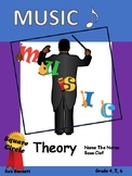 Music - Name the notes Bass clef no prep