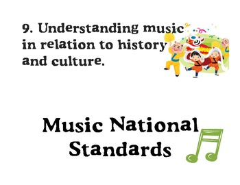 Music National Standards