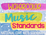 Music National Standards {Watercolor Set}