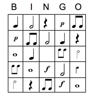 Music Notation Bingo SMART Software + iPads!