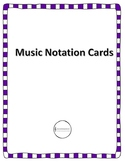 Music Notation Cards