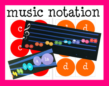 Boomwhacker (r) Cards: Music Notation Dot Display